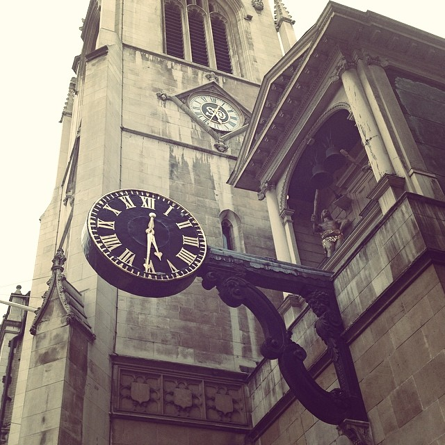 Time after time #fleetstreet #cityoflondon